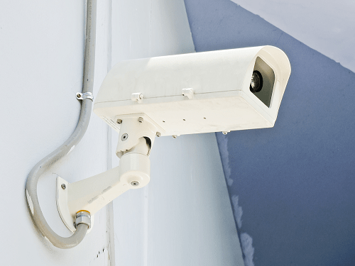 wired security cameras or traditional security cameras