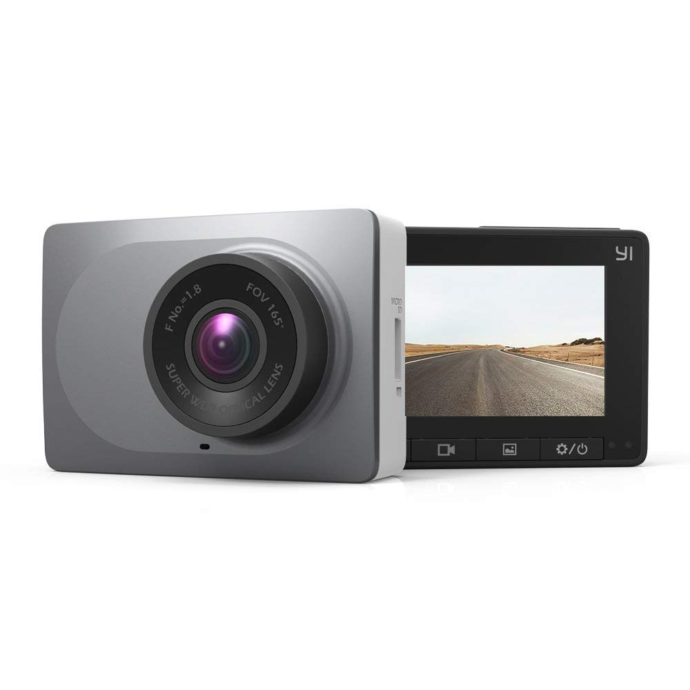 YI dash spy camera for security