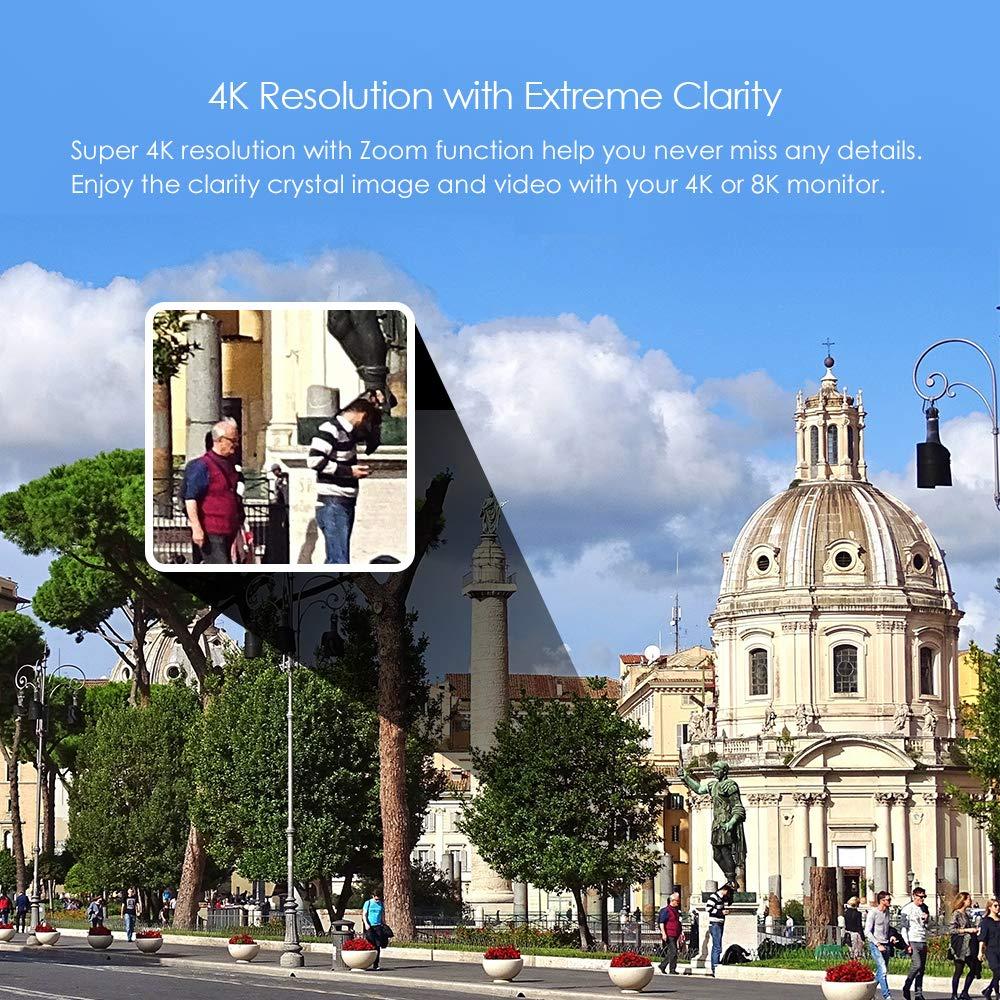 4K resolution for spy cameras