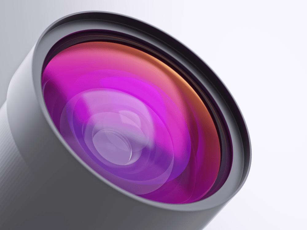 4k security camera lense