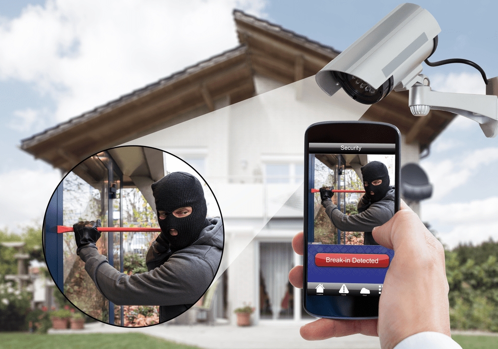 4k security cctv camera protection