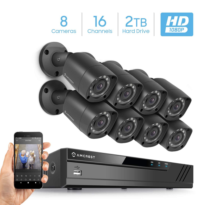 Amcrest 16 DVR Security System
