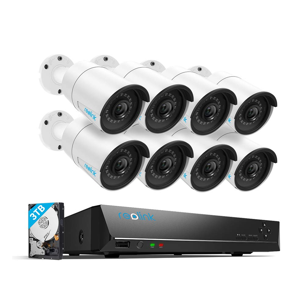Reolink 16 Channel PoE Security cam System
