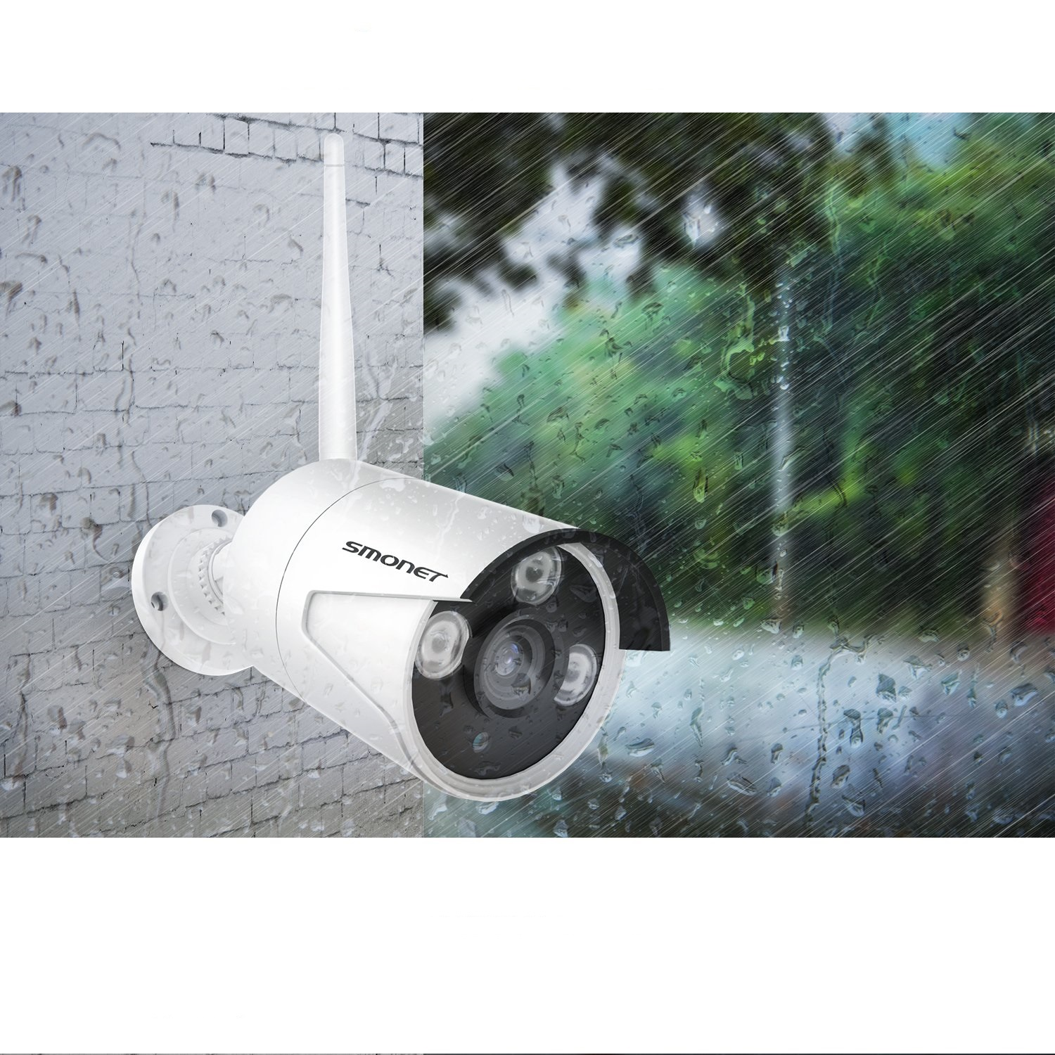 best Smonet 4 CH Outdoor Night Vision Security Camera