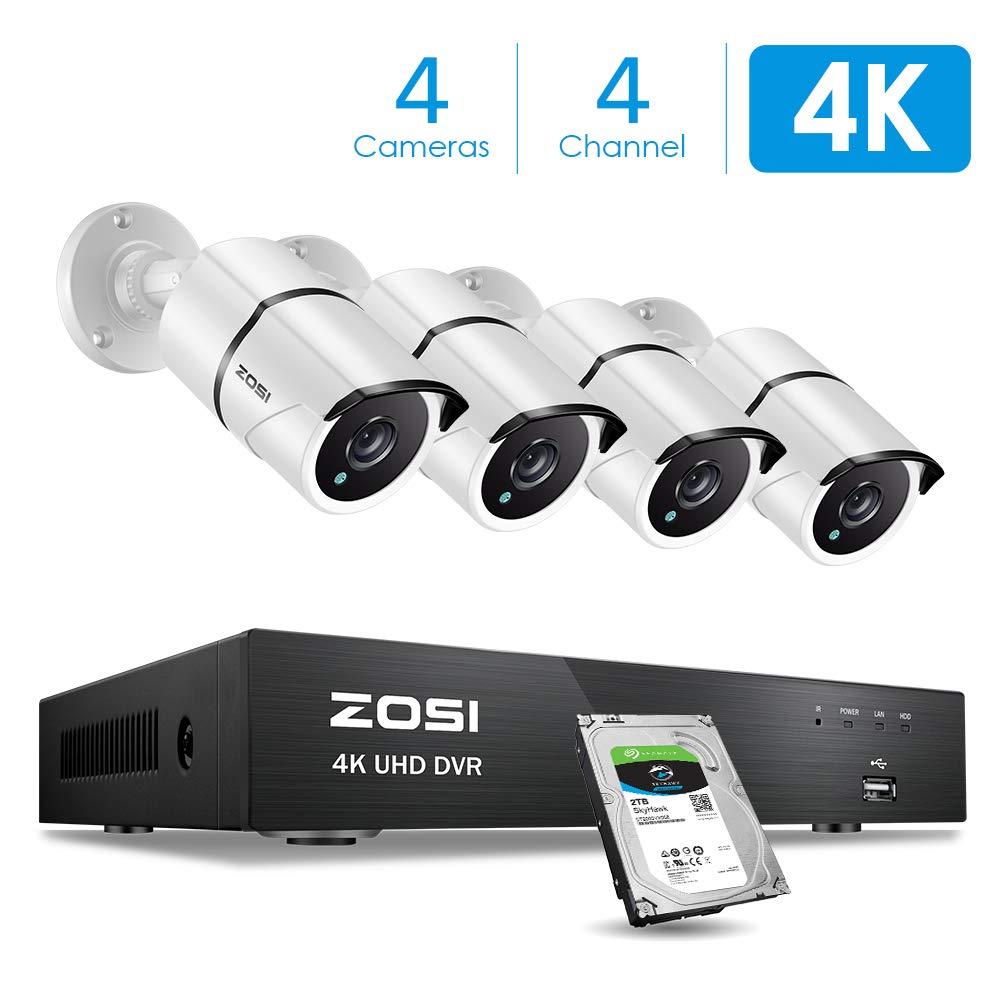 ZOSI 4K Ultra HD Security Camera