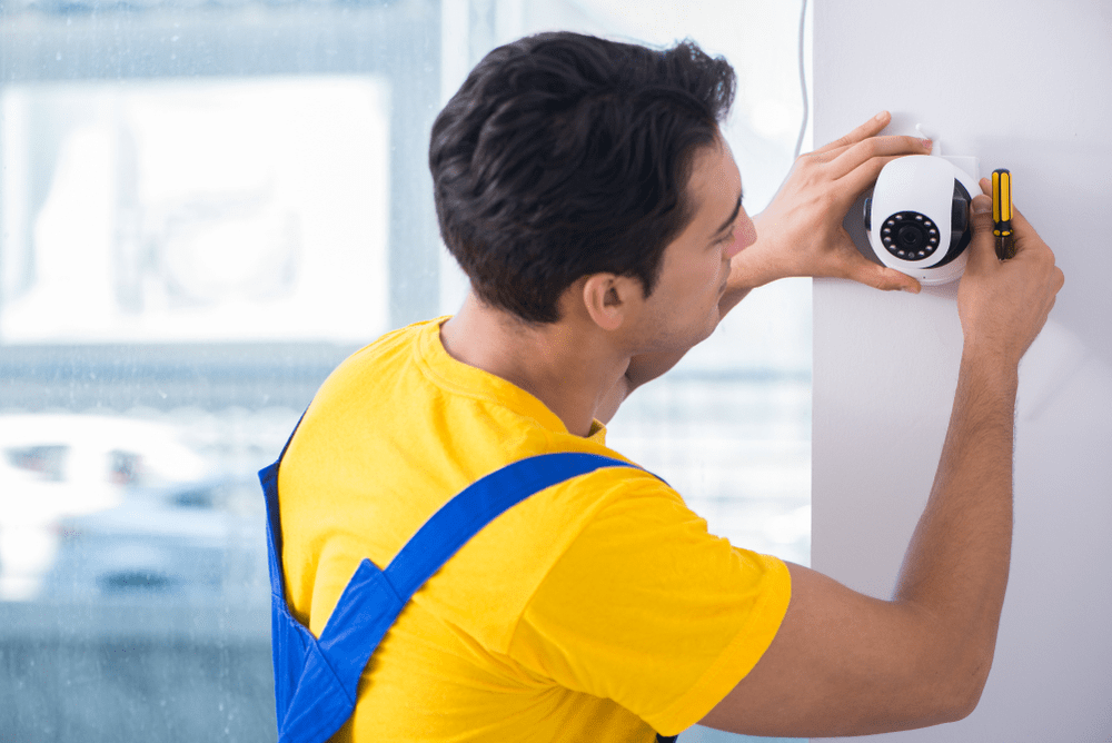 indoor and outdoor security camera installation cost