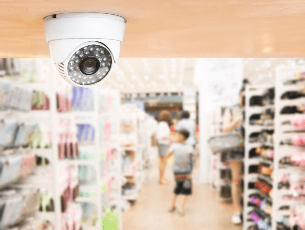 indoor installtion charges of security surveillance cameras