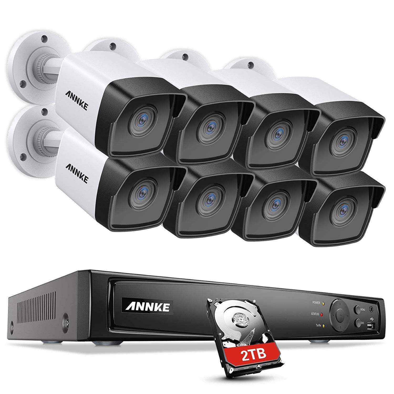 ANNKE 8CH 5MP PoE security camera