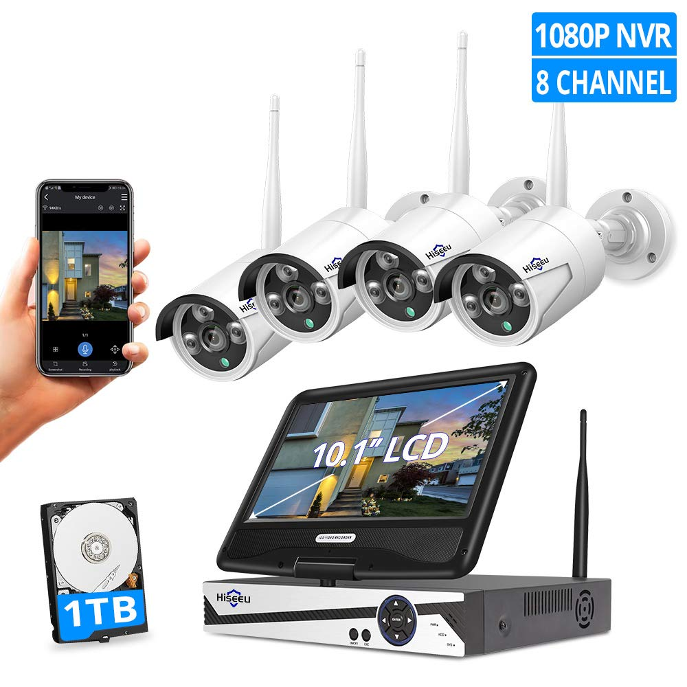 HisEEu surveillance camera system for business security