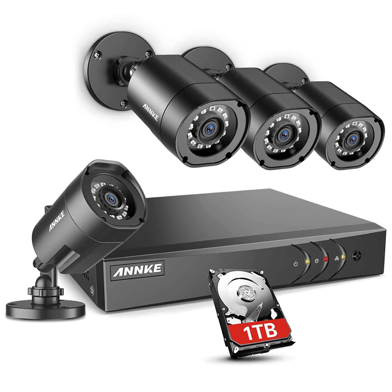 Annke 8ch dvr security camera system