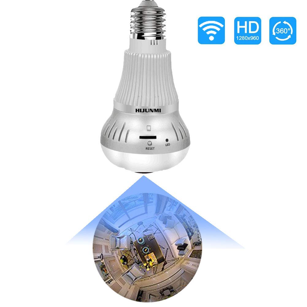 Light bulb hidden spying securitycamera by HIJUNMI