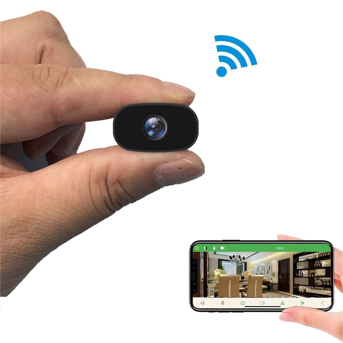 Mini Hidden outdoor Cameras-PNZEO W3 Spy Cam Portable Wireless WiFi Remote View CameraMini Hidden outdoor Cameras-PNZEO W3 Spy Cam Portable Wireless WiFi Remote View Camera