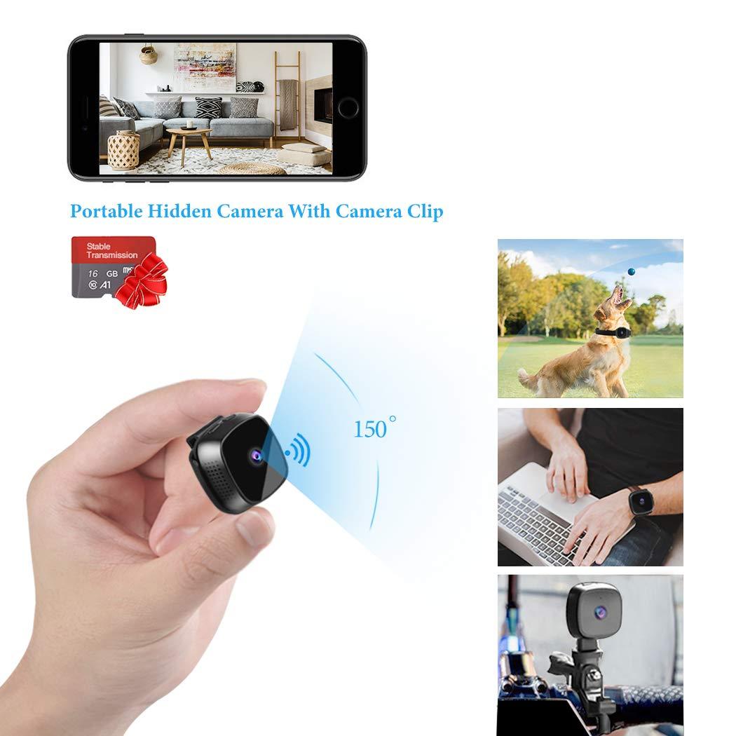 Mini Surveillance cctv Hidden Camera Suntee WiFi Hidden Camera Portable Home Security Cameras