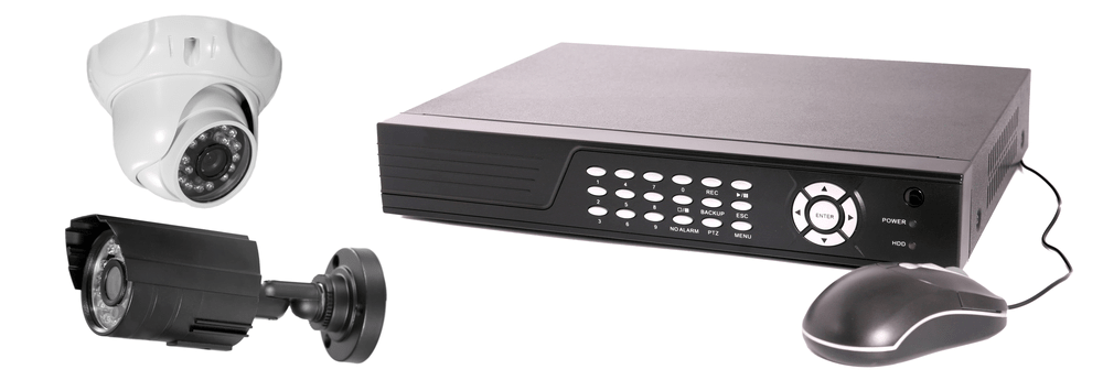 all types of cctv security cameras with the DVR