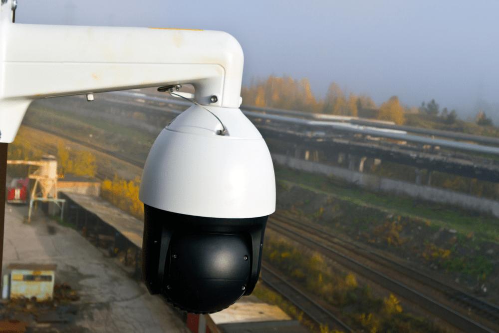 outdoor poe ptz ip security camera