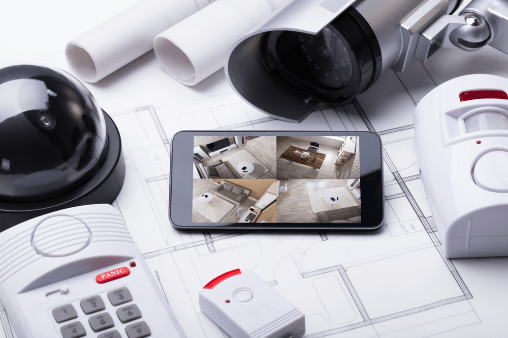 remotely access security cameras